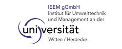 Logo IEEM gGmbH - Institut für Umwelttechnik und Management an der Universität Witten/Herdecke