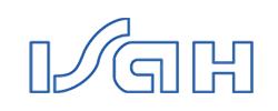 Logo ISAH - Institut für Siedlungswasserwirtschaft und Abfalltechnik