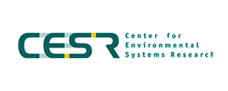 Logo Universität Kassel, Center for Environmental Systems Research