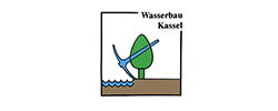 Logo Universität Kassel, Fachgebiet Wasserbau und Wasserwirtschaft