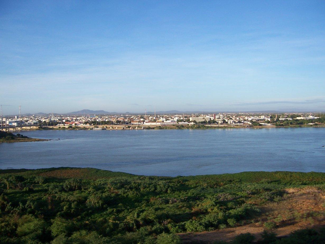 São Francisco Fluss bei Petrolina, Brasilien