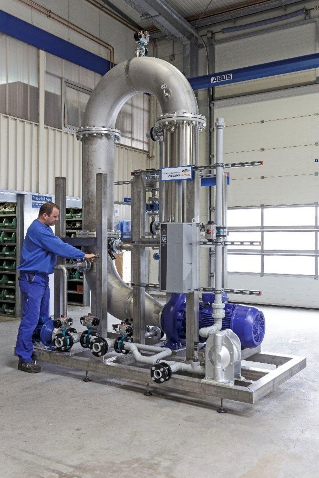 Envopur® Ultrafiltrationsanlage mit Monteur