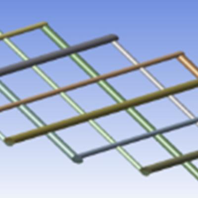 Der ASD-Spacer zeichnet sich durch alternierende Spacerdicken aus, Ein Spacer Filament definiert die Dicke des Feedkanals und das dünnere Filament sorgt für ausreichend Turbulenzen.