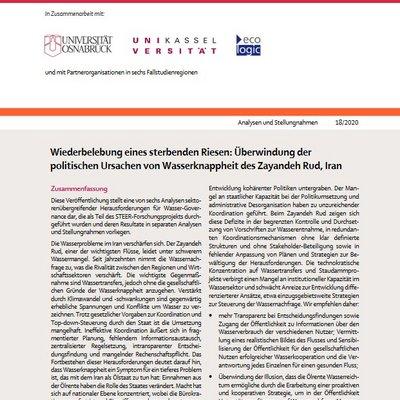 Die Veröffentlichung erläutert, wie Transparenz und Koordination helfen kann, die regionale Rivalität beizulegen.