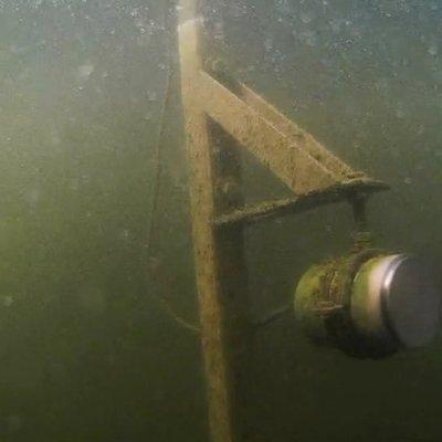 Unterwasseraufnahme der Ultraschalleinheit