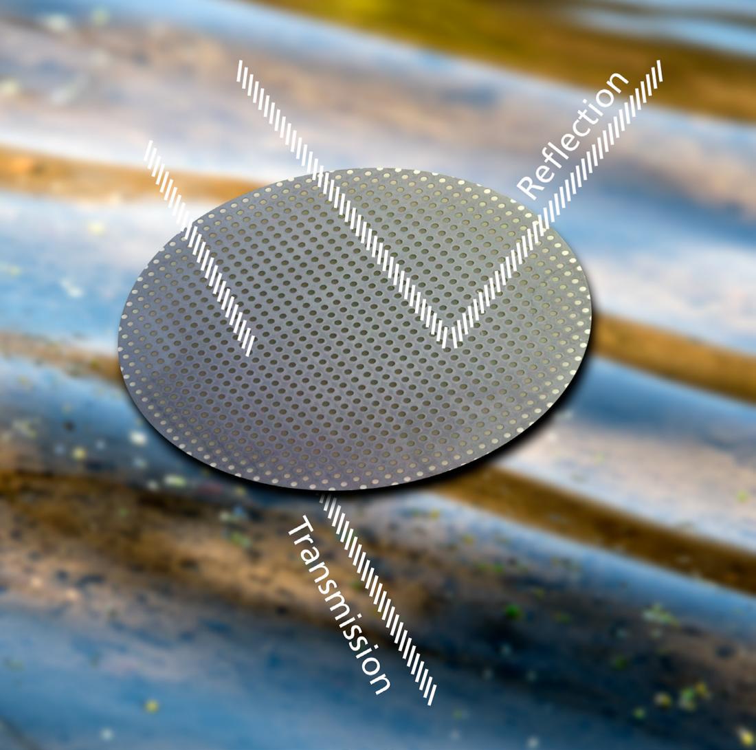 Siliziumfilter als optimales Substrat für die optisch-spektroskopische Analyse