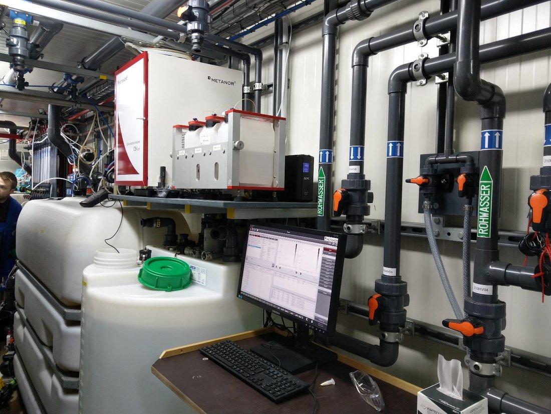 Charakterisierung der mikrobiologischen Wasserqualität mittels Durchflusszytometrie
