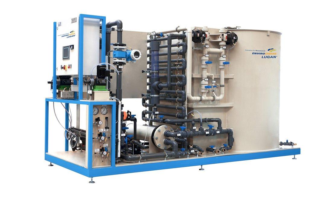 Elektroflotationsanlage Lugan® 10.000 E-Flo-Dr. Baer